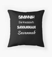 Savannah, GA Ich liebe Savannah Georgia Dekokissen