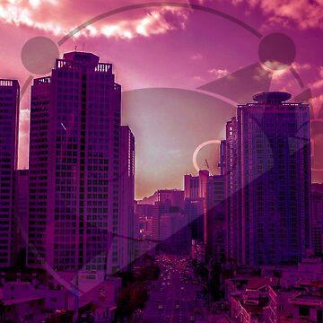 Automaton - 80's City by hairybones1997