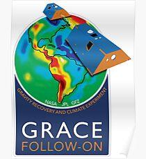 GRACE Folgen auf Mission Logo Poster