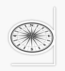 Compass Sticker