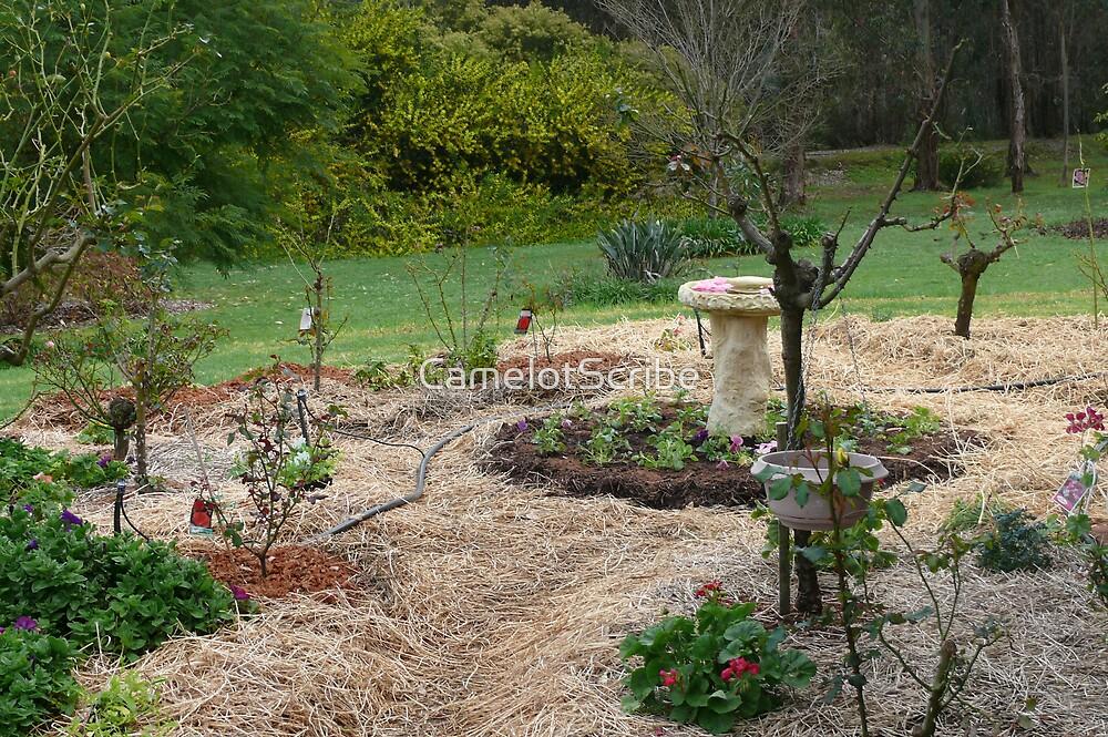 A county Garden. by CamelotScribe