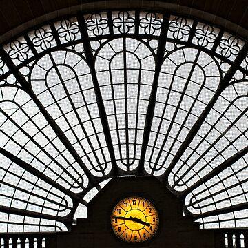 Gare de l'Est facade by vicpug