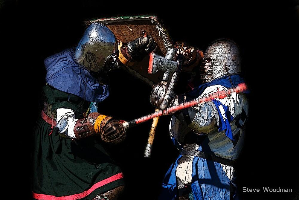 Mortal Combat by Steve  Woodman