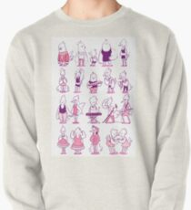 a bunch of birds Pullover