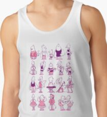 a bunch of birds Tank Top