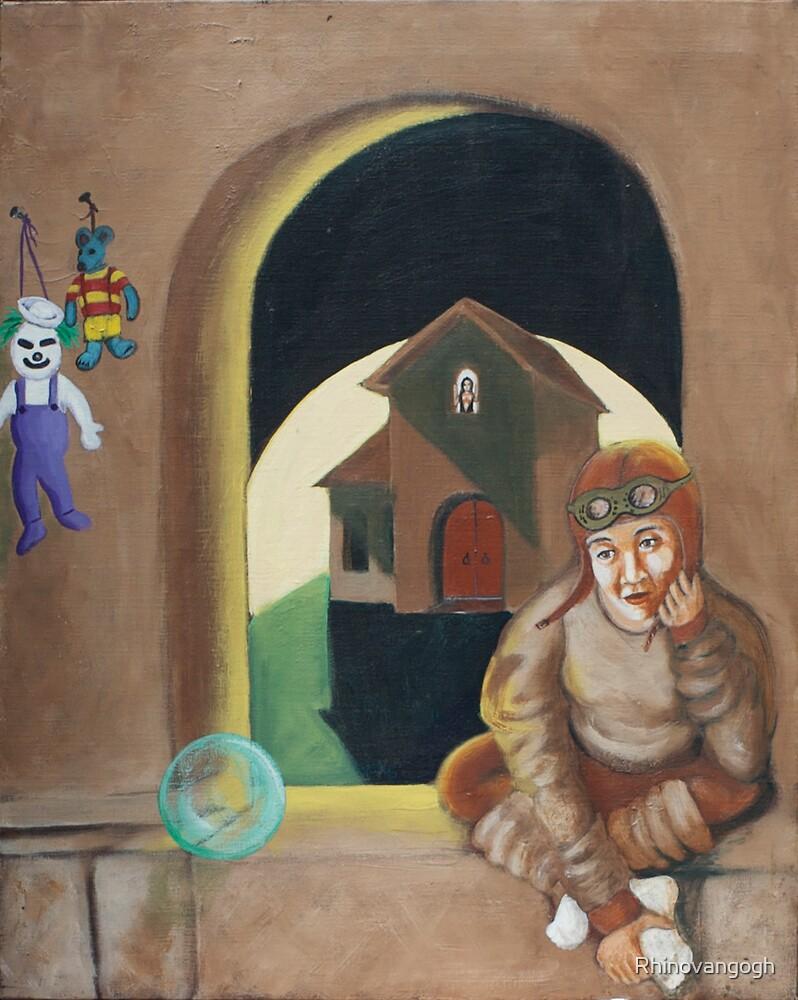 Lonely Room by Rhinovangogh