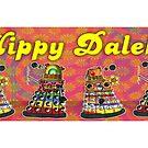 Hippy Daleks by ToneCartoons