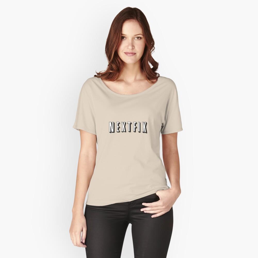 NextFix Women's Relaxed Fit T-Shirt Front