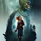 « The X-Files comic book cover- Florida Man #2  » par Chimerart