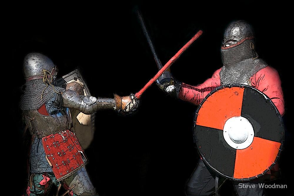 Knights  by Steve  Woodman