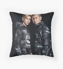 Marcus and Martinus Throw Pillow