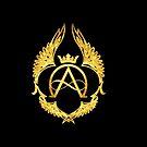 The Aeon Chronicles Emblem Black background by AprilMWoodard