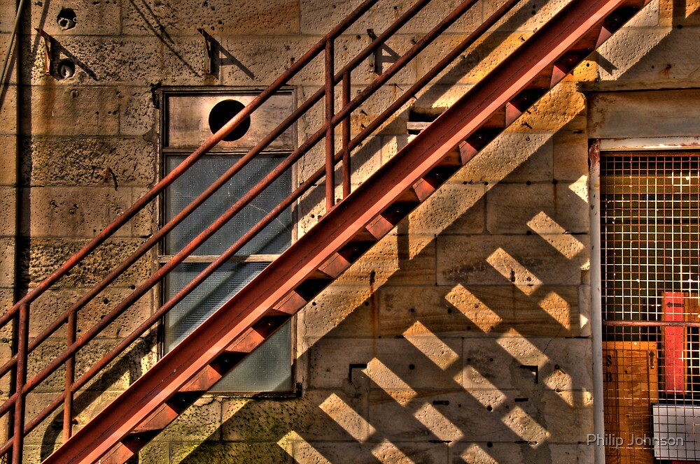 Off The Rails - Cockatoo Island - The HDR Experience by Philip Johnson
