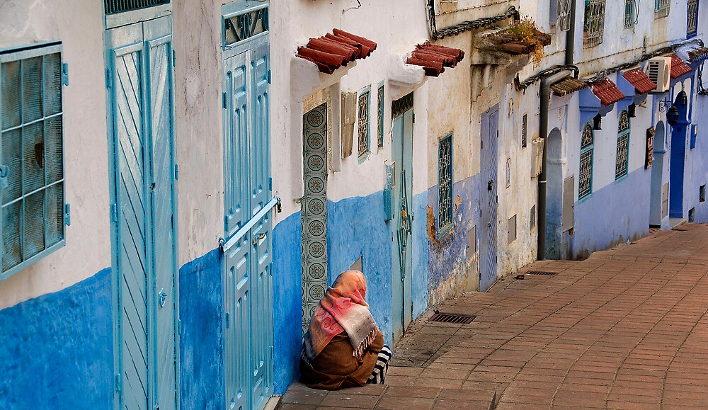 Chefchaouen, Morocco by Frank Alvaro