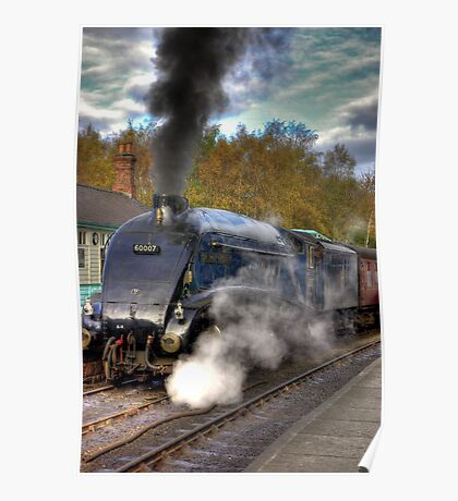 No 60007  Sir Nigel Gresley Poster