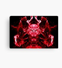 The Red Warrior Awakens Canvas Print
