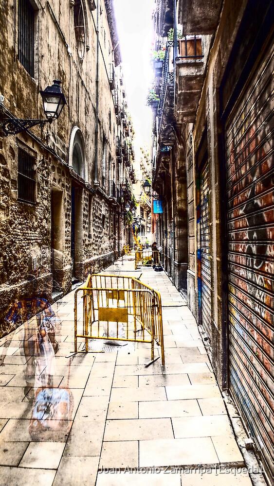 2009-05-21: c/ de la Lleona, Ciutat Vella, Barcelona by Juan Antonio Zamarripa [Esqueda]