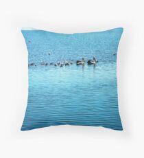 Seabirds Throw Pillow