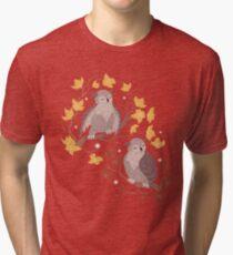 Owls Tri-blend T-Shirt