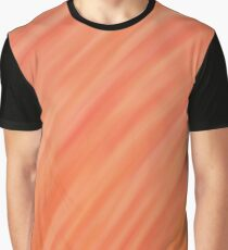 Peach Gradient Design Graphic T-Shirt