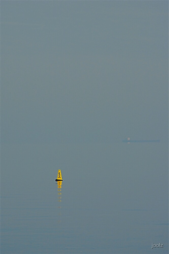 The Yellow Buoy by joolz