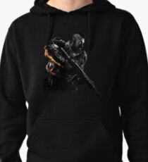 BLACK OPS 4 - RUIN - BLACK & WHITE W/ HIGHLIGHTS Pullover Hoodie