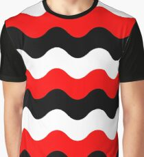 Pattern waves Graphic T-Shirt