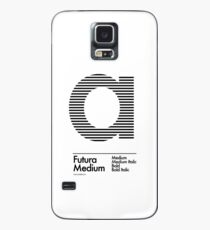 The Letter a Futura Type Case/Skin for Samsung Galaxy