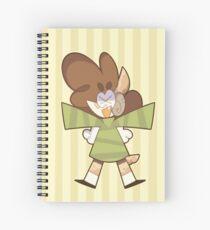 Cuaderno de espiral chibi kao (bg)
