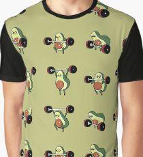 OLYMPIC LIFTING Avocado Graphic T-Shirt