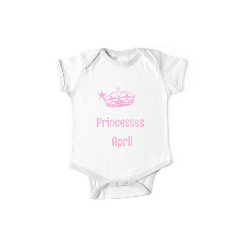 Real Princesses were born in April Funny Gift by niktik95