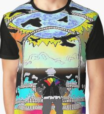 Destination Unknown Collection-Little Push & Shove-May 28, 2015 Graphic T-Shirt