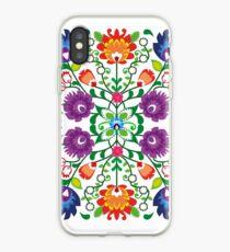 Folk #4 - white iPhone Case
