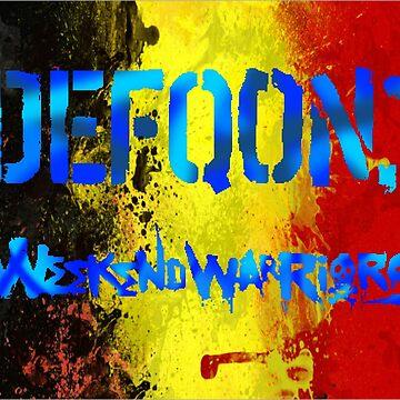 «Drapeau Belge Defqon1» par Lytazo