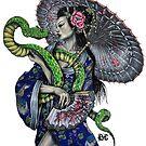 Schlangen-Kimono von Brandon Cooper