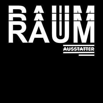 Raumausstatter - Interior Designer - Typography by RecycleBros