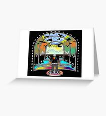 Destination Unknown Collection-Little Push & Shove-May 28, 2015 Greeting Card