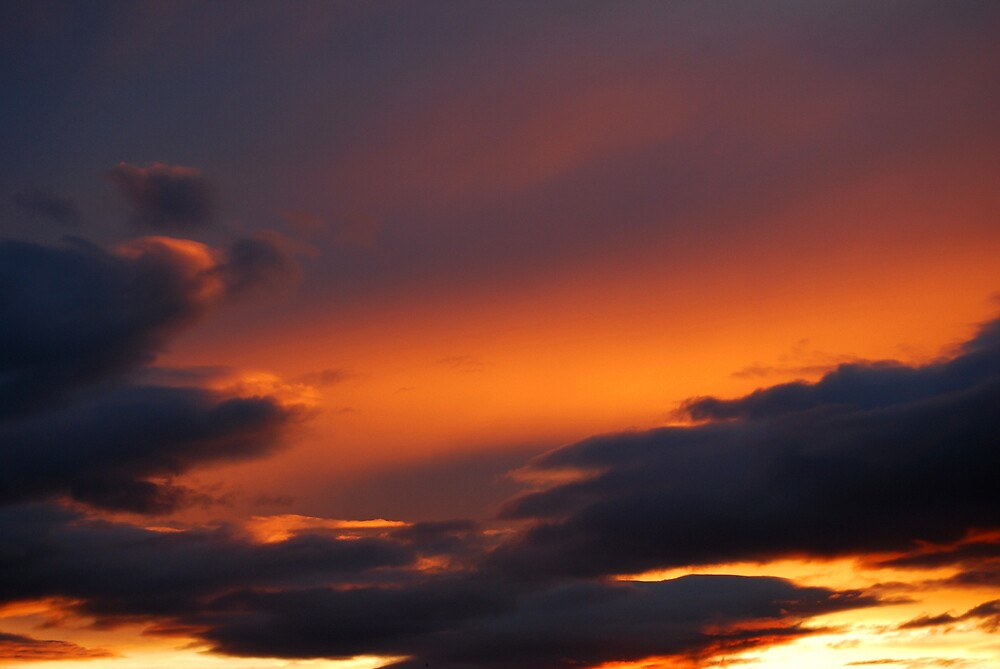 Sunset Cloudscape 2 by Ian Marshall