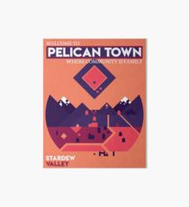 Welcome to Pelican Town - Stardew Valley Art Board