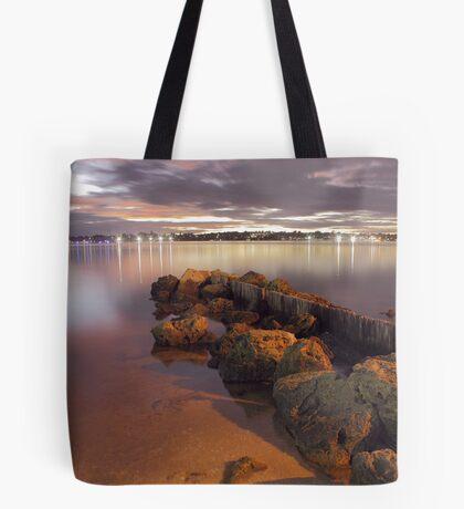 Swan River Rocks  Tote Bag
