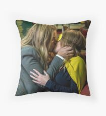 charity and vanessa Throw Pillow