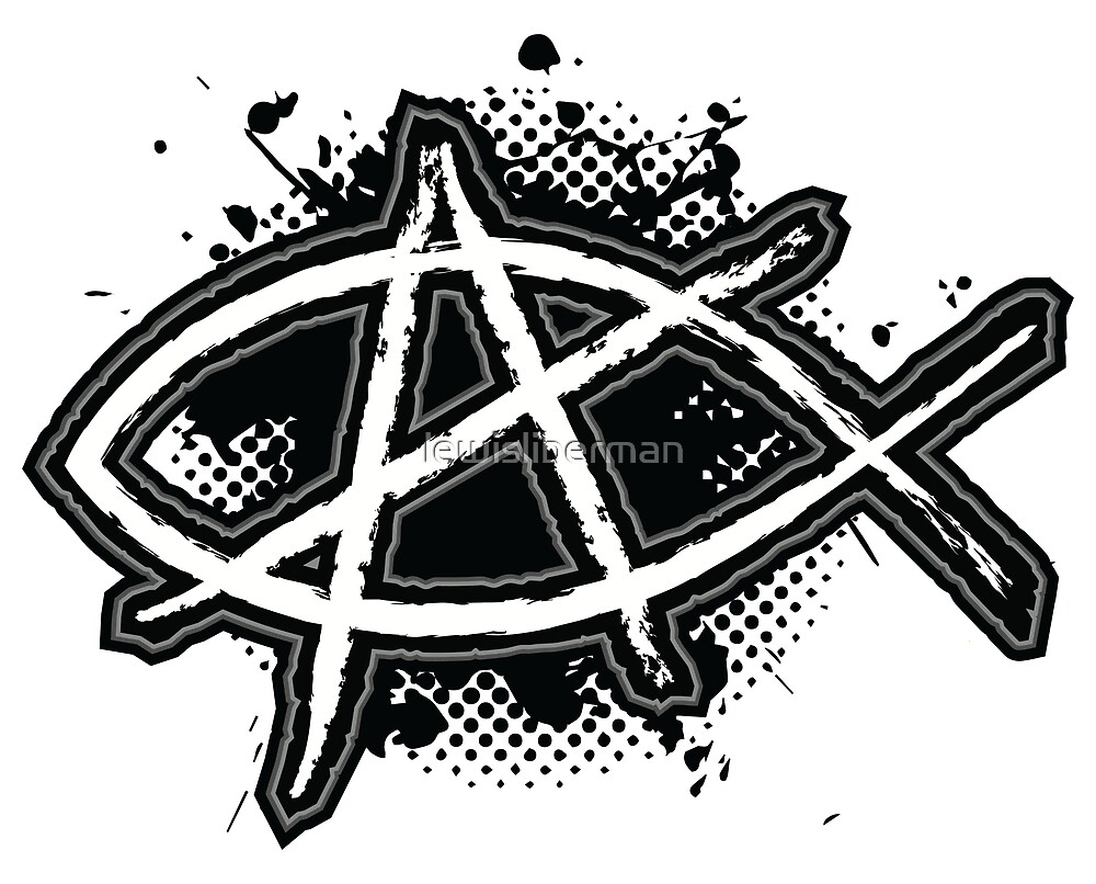 Christian Anarchy By Lewisliberman Redbubble