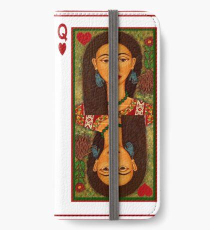 Frida Kahlo, reina de corazones iPhone Wallet