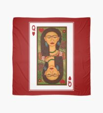 Frida Kahlo, reina de corazones Scarf