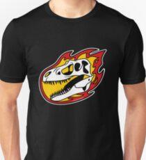 Flaming Gorgosaurus! Unisex T-Shirt