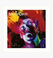Alice In Chains - Facelift Art Print