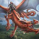 Drachenreiter von PeterSiedlArt