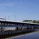 Craigavon Bridge, Derry, Northern Ireland by Agnes McGuinness