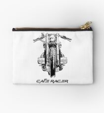 Cafe Racer Motorcycle Studio Pouch
