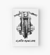 Cafe Racer Motorcycle Hardcover Journal